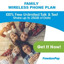 Free Family Wireless Plan